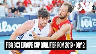 Download Re-Live - FIBA 3x3 Europe Cup Qualifier Romania 2019 - Day 2 - Constanta, Romania Video