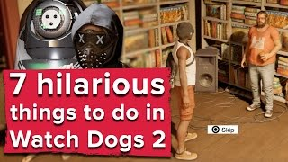 Download 7 hilarious things you can do in Watch Dogs 2 - Watch Dogs 2 PS4 gameplay Video