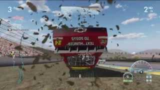 Download NASCAR The Game: Inside Line Online Crash Compilation #1 Video