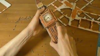 Download 3D Puzzle ″London Big Ben ″ Video