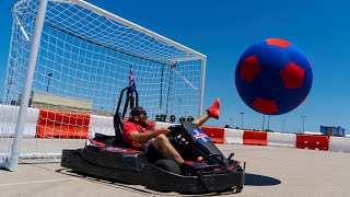 Download Go Kart Soccer Battle | Dude Perfect Video