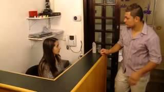 Download Teste de Fidelidade: Testado sente calor ao ver dentista 'gostosona' (8) Video