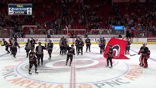 Download 12/13/16: Canucks 6 at Hurricanes 8 F Video