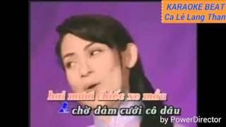 Download Karaoke tan cổ can nha mau tim beat song ca hd Video
