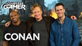 """Download Clueless Gamer Super Bowl Edition: ″For Honor"""" - CONAN on TBS Video"""