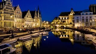 Download The Beer and Chocolate Shop Displays of Brugge Belgium Christmas Video
