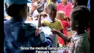 Download Indian Female Formed Police Unit Provide Humanitarian Health Clinic For Liberians Video