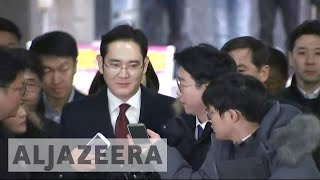 Download South Korea prosecutors seek arrest of Samsung heir Video