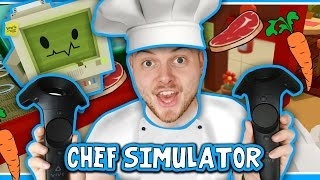 Download SquiddyPlays - CHEF SIMULATOR! (HTC Vive) - GOURMET CHEF!! Video