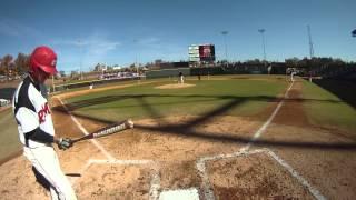 Download wssu baseball alumni game inning 1 gopro footage Video