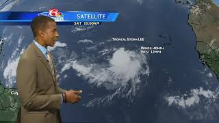 Download Tracking the Tropics: Tropical Storm Lee forms in Atlantic Video