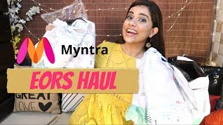 Download MYNTRA EORS HAUL , See what I got... | Sana K Video