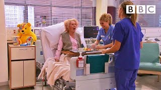 Download Catherine Tate's Nan returns as Holby City's worst ever patient! | Children in Need - BBC Video