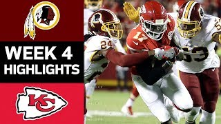 Download Redskins vs. Chiefs | NFL Week 4 Game Highlights Video