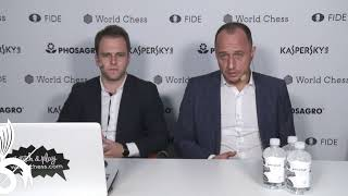 Download FIDE GrandPrix Moscow 2019. Final. Game 1 Video