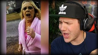 Download PSYCHO OLD WOMAN ATTACKS KID Video