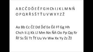 Download Basic czech alphabet Video