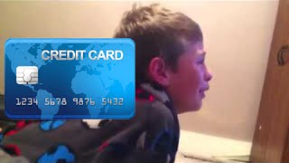 Download KID USES MOM'S CREDIT CARD | CRIES AFTER ACCIDENTLY DONATING Video