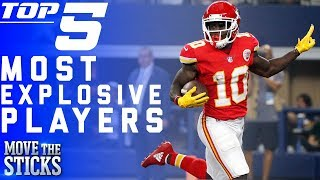 Download Top 5 Most Explosive Players in the NFL | NFL Highlights Video