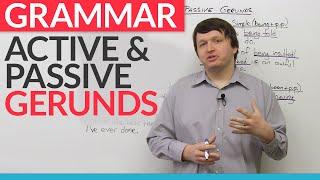 Download Grammar: Active and Passive Gerunds Video