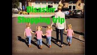 Download A DISASTER SHOPPING TRIP WITH QUADRUPLETS Video