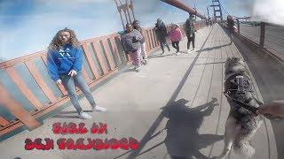 Download *Ambulance Called* San Fransisco UP IN FLAMES, Siberian Husky SPRINTS Golden Gate Bridge! Video