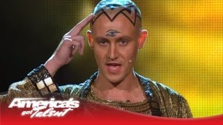 Download Special Head - Monk Levitates Above a Pyramid and Disappears - America's Got Talent 2013 Video