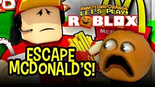 Download Escape the Crazy McDonalds Manager!!! (Annoying Orange Roblox) Video