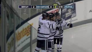 Download UNH Men's Hockey Highlights vs Bentley (10-8-16) Video