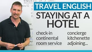 Download Real English for staying at a HOTEL Video