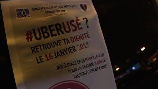 Download A Paris, les chauffeurs VTC mobilisés pour leurs salaires Video