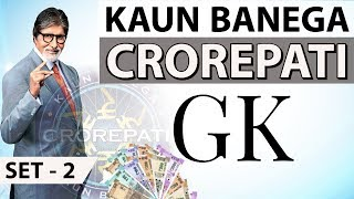 Download KBC GK Practice Questions Set 2 by Dr Gaurav Garg - Kaun Banega Crorepati Video