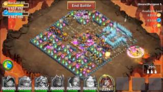 Download Castle Clash All Insane Dungeon 5 (1-10) [F2P] Video
