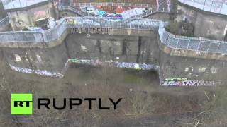 Download Germany: See unique DRONE footage of Hitler's defence tower Video