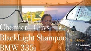 Download Test Chemical Guys Black Light Shampoo, Tuga Alu-Teufel, mit BMW 335i Video