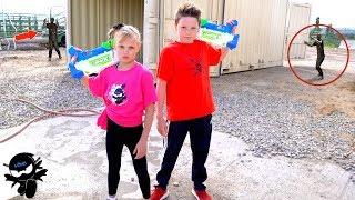 Download X-Shot Team up with Ninja Kidz! Video