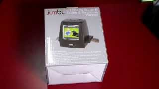 Download Jumbl 22MP All-In-1 Film Negative & Slide Scanner - Convert Old Negatives to Digital Video
