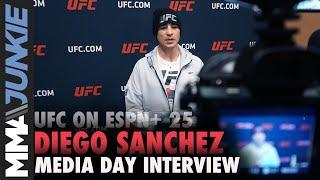 Download UFC on ESPN+ 25: Diego Sanchez media day interview Video