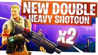 Download New Double Heavy Shotgun is OP - New Fortnite Legendary Shotgun Video