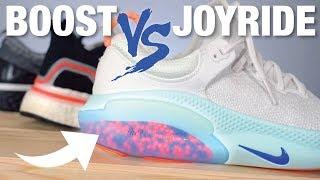 Download Nike JOYRIDE vs Adidas BOOST vs Nike REACT: COMPARISON Video
