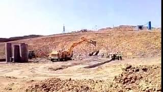 Download Строительство ЖД тоннеля на подходах к Керченскому мосту/Начало/Южный портал Video