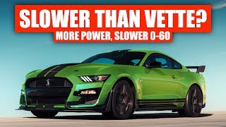 Download Why The 2020 Corvette Is Faster Than Ford's GT500 (To 60 MPH) Video