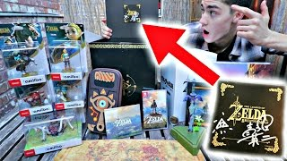 Download Unboxing EXCLUSIVE [1 of 100] Breath of the Wild MASTER EDITION - Signed by Aonuma Video