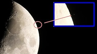 Download Something is happening on the moon, take a Look!!! (Raw footage) Video