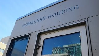 Download Stackable micro-apartments for the homeless Video