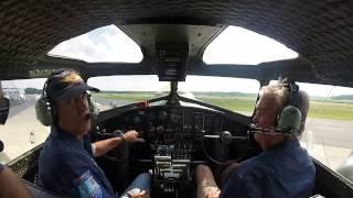 Download B-17 Sentimental Journey Glens Falls / Lake George - Cockpit 1 of 3 Video