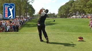 Download Patrick Reed's pre-round warm-up routine Video
