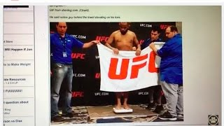 Download DANIEL CORMIER MISSES WEIGHT (AND THEN DOESN'T) FOR UFC TITLE FIGHT Video