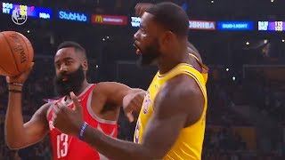 Download James Harden Shoves Lance Stephenson For Taunting Then Gets Technical Foul! Lakers vs Rockets Video
