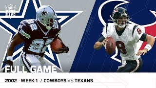 Download Texans First Win in Franchise History (Week 1 vs. Cowboys, 2002) | NFL Full Game Video
